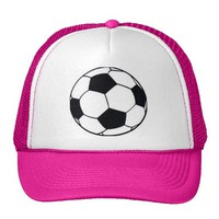 Hakuna Matata II LOVE FOOTBALL (SOCCER) Trucker Hats