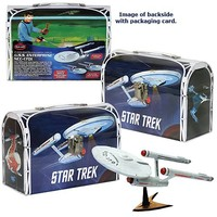 Star Trek: TOS Enterprise Model Kit and Tin Lunch Box - Round 2 - Star Trek - Model Kits at Entertainment Earth