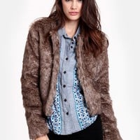 Edie Faux Fur Jacket