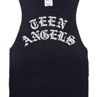 Teen Angels Tee (Sleeveless) - Too Ugly For L.A.