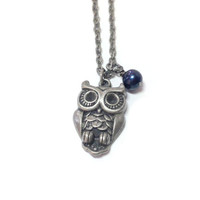 Ravenclaw Feathered Owl Necklace