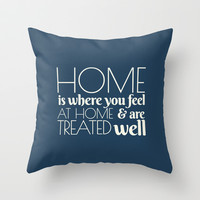 Home  Throw Pillow by fantasizereality
