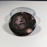 "Comic Book 1.5"" Button// Doctor Doom"