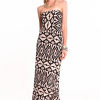 DESERT TRIBE MAXI DRESS