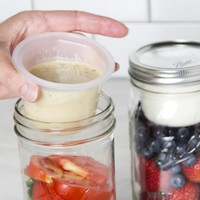 Mason Jar Lunchbox Adaptor by Cuppow