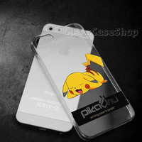 Pokemon Pikachu 2 for iphone 4 case, iphone 5 case, samsung s3 case, samsung s4 case cover in clearcaseshop