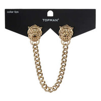 Lion Door Knocker Collar Tips - New This Week - New In - TOPMAN USA
