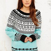 Cooperative Fair Isle Sweater at Urban Outfitters