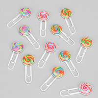 Sweet Treats Paperclip - Set Of 12 - Urban Outfitters