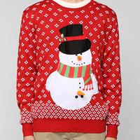 Happy Snowman Sweater - Urban Outfitters