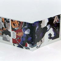 Comic Book Wallet// J Jonah Jameson and Dark Spider-Man (Venom)