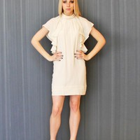Cream Silk Secondhand French Connection Dress