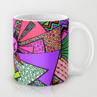 Power of Love (color version 3) Mug by Lisa Argyropoulos