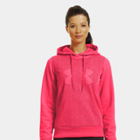 Women's Armour Fleece Storm Eclipse Big Logo Hoodie