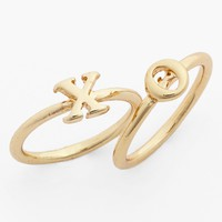 'XO' Midi Rings (Set of 2)