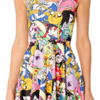Adventure Time Bro Ball Reversible Skater Dress | Black Milk Clothing