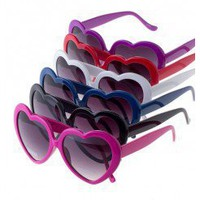 HEART SUNGLASSES-Sunglasses-Womens Sunglasses,cat eye sunglasses,sunglasses case,round sunglasses,square sunglasses,tortoise sunglasses,oversized sunglasses