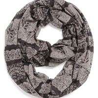Tri-Coastal Design Burnout Infinity Scarf (Juniors) | Nordstrom