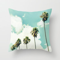 Paradise & Heaven Throw Pillow by RichCaspian
