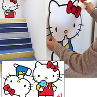 BLIK - HELLO KITTY SUPER CUTE WALL DECALS
