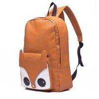 Latest Cute Sweet Lovely Carton Fox Backpack Bag