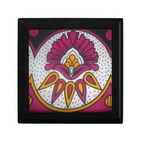colors cool retro vintage African traditional styl Tile