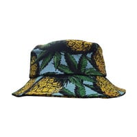 Stolen Girlfriends Club / HIGH TIMES BUCKET HAT PINEAPPLE