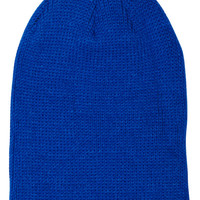SURFSTITCH - SNOW - BEANIES - MENS - COAL THE FRENA SOLID BEANIE - ROYAL BLUE