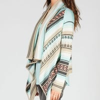 FULL TILT Waterfall Womens Wrap Sweater