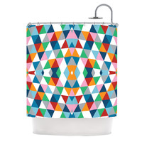 "Project M ""Geometric"" Shower Curtain 