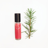 Spruceberry Perfume Oil - Spruce, Cranberry, Clove, Rosemary - Holiday Festive Fragrance