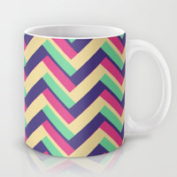 3-D Chevron Mug by Josrick