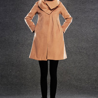 womens winter jacket girls pea coat