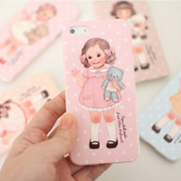 Paper Doll iPhone 5 Case