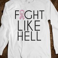 FIGHT LIKE HELL BREAST CANCER AWARENESS