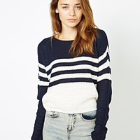 Vila Colour Block Jumper