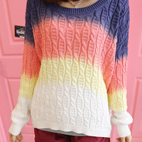 Gradient pullover knitted BABHDJ from illuminatigirlgang