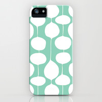 Holiday Bobbles - Festive Teal iPhone & iPod Case by Heather Dutton