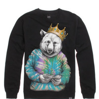 Rook Biggie Bear Crew Fleece at PacSun.com