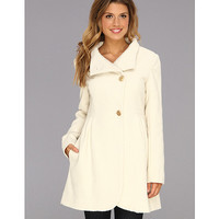 Jessica Simpson Jacquard Wool Coat