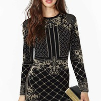 Darkling Sweater Dress