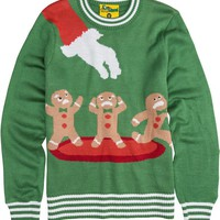 TIPSY ELVES GINGERBREAD NIGHTMARE SWEATER