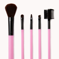 French Bulldog Cosmetic Brush Set