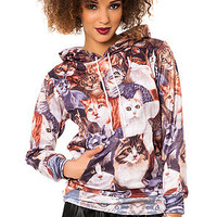 The Cats Hoodie in Multi