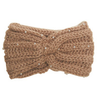 Pearl Knot Knit Headwrap | Wet Seal