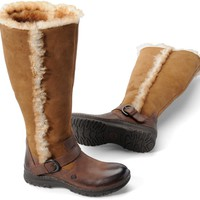 Born Helga in Canoe Shearling Lined - Born Womens Boots on Shoeline.com