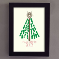 Kids Christmas Tree Craft for ANYONE - (Printable) 2013