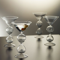 The Martini Hourglasses