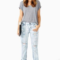 One Teaspoon Awesome Shredded Jeans