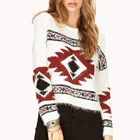 Easy Traveler Shag Sweater